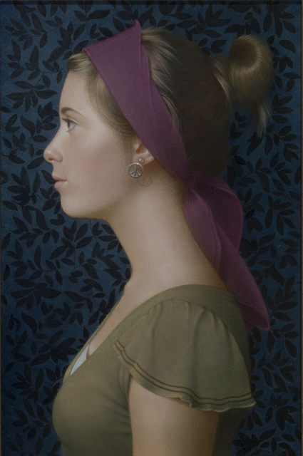 , 'Girl in Profile, Purple Headband,' , J. Cacciola Gallery