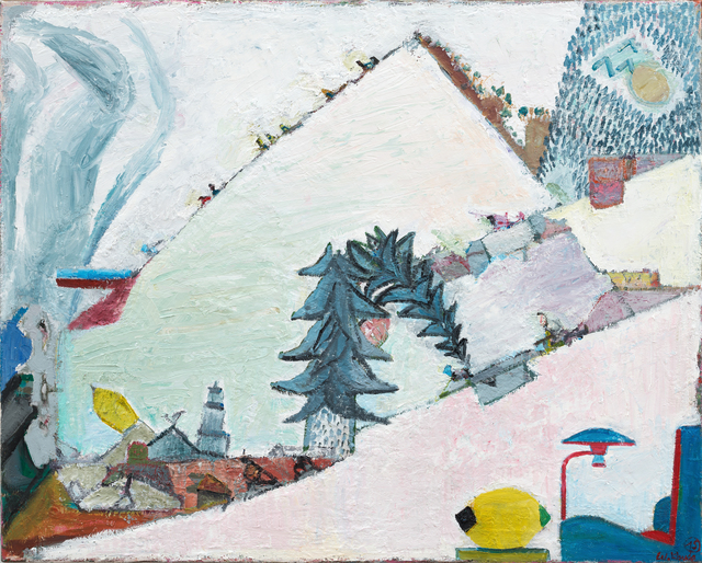 , 'Warmschnee,' 2015, Galerie Kleindienst