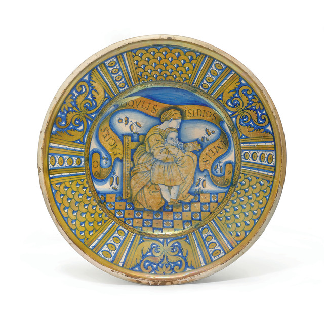 , 'A Deruta Maiolica Gold-Lustre Charger,' ca. 1530-1550, Christie's Old Masters