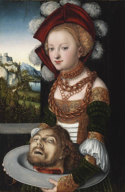 , ' Salome with the head of John the Baptist,' 1526-1530, Musée du Luxembourg