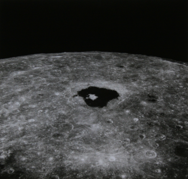 , 'Apollo 8 Moon View (Tsiolkovsky crater),' 1968, Ingleby Gallery
