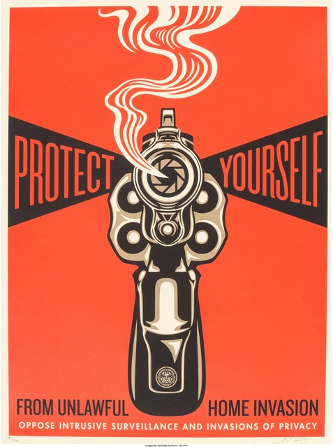Shepard Fairey (OBEY), 'Home Invasion 1', 2014, Heritage Auctions