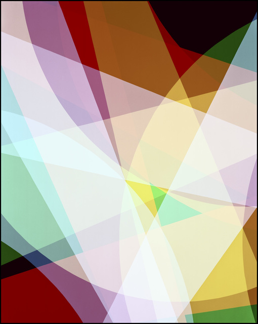 , 'Randomized Unfold I,' 2014, Taik Persons