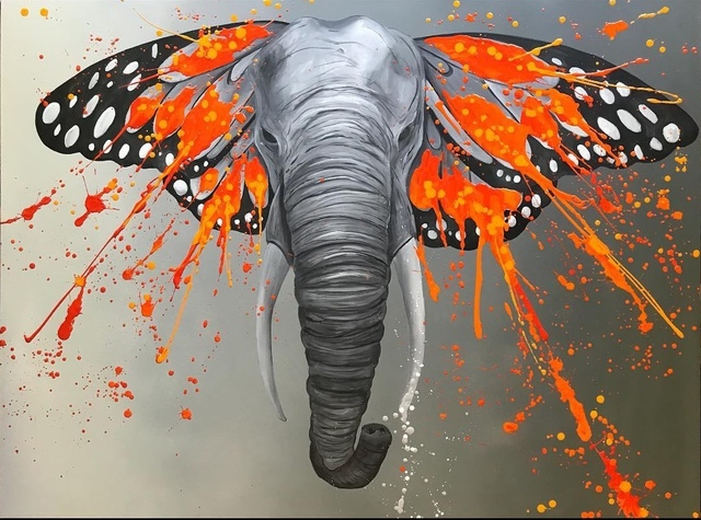 , 'An Elephant Named Ivory,' ca. 2017, White Porch Gallery