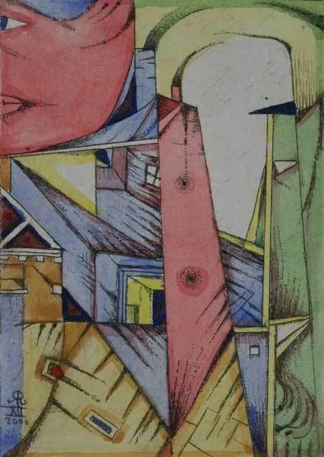 , 'A town,' 2000, Gallery Katarzyna Napiorkowska | Warsaw & Brussels