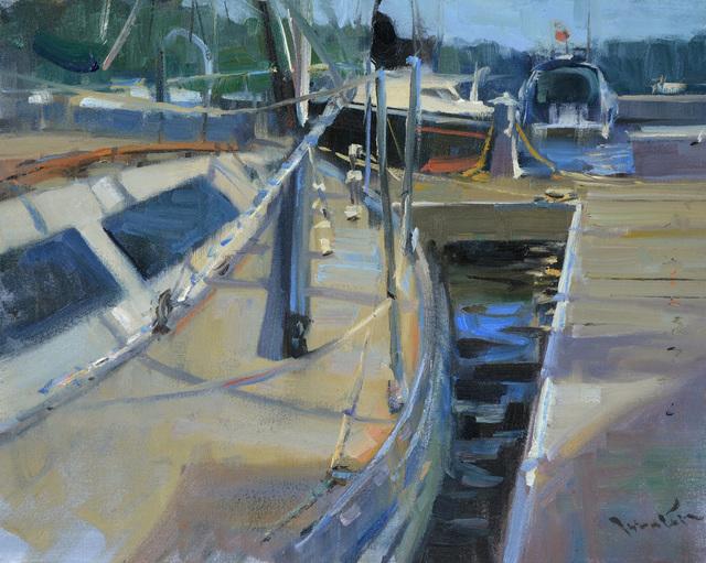 John P. Lasater IV, 'Dock Patterns', 2014, Justus Fine Art Gallery