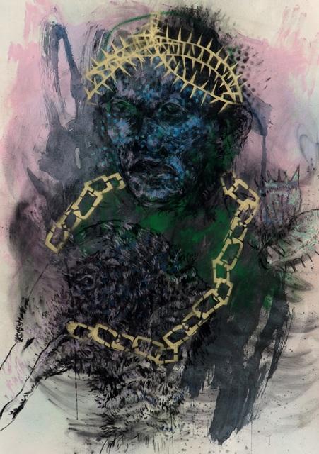 Vusi Beauchamp, 'Freedom Fighter', 2020, 99 Loop Gallery