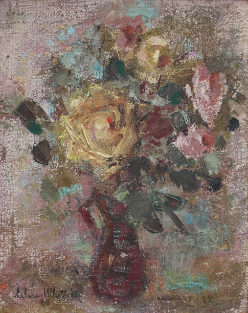 , 'Bouquet of Flowers in Red Vase,' 1968, Bureau of Interior Affairs