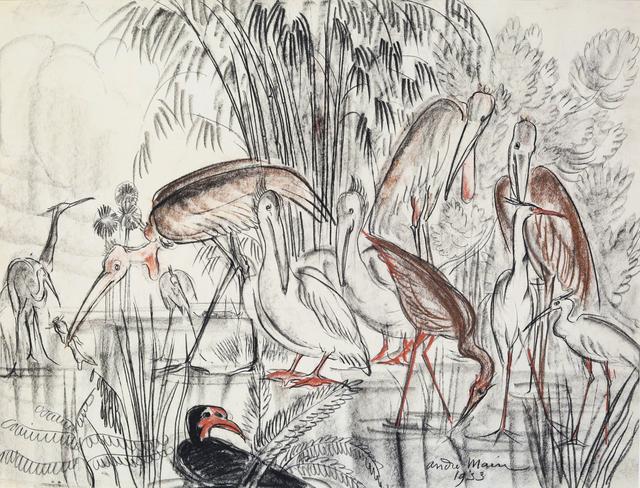 , 'Birds,' 1953, Galerie Dumonteil