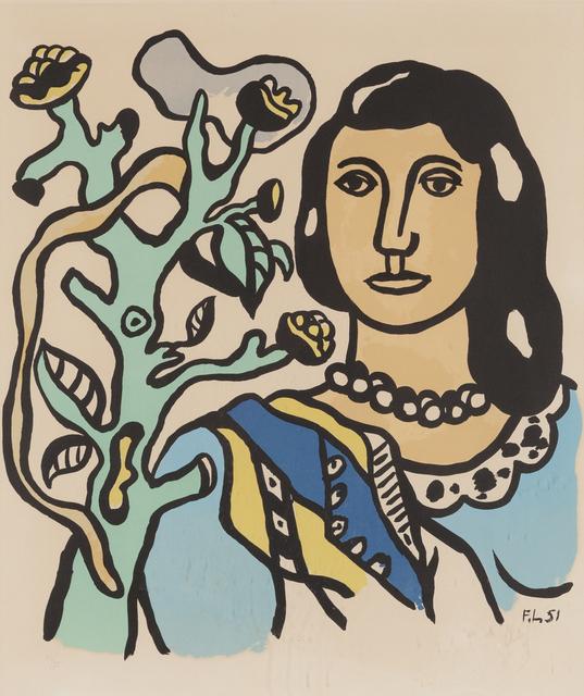 , 'La femme et la fleur,' 1954, Childs Gallery
