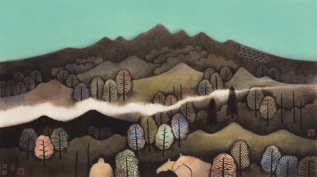Hong Tao Huang 黄红涛, 'Nameless Hills Series 2 No.202', 2017, White Space Art Asia