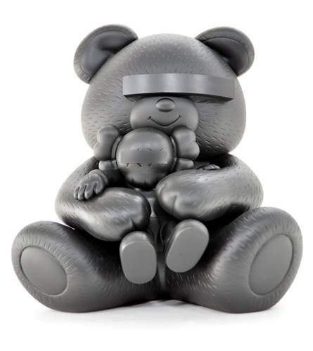 KAWS, 'Undercover Bear (Black)', 2009, MSP Modern Gallery Auction