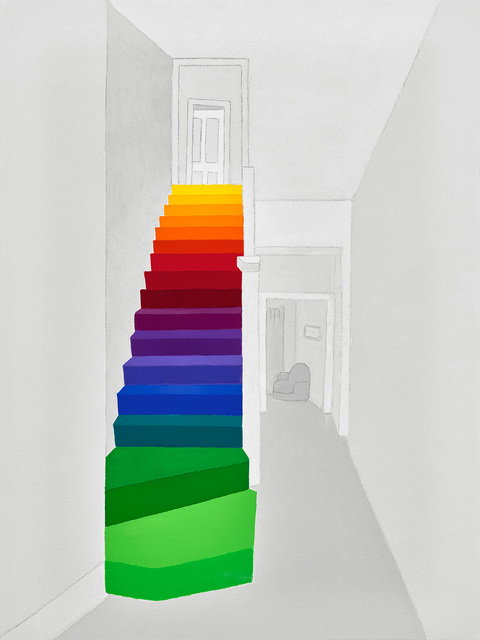 Michael Jernegan, 'Rainbow Stairway', 2016, design art concepts