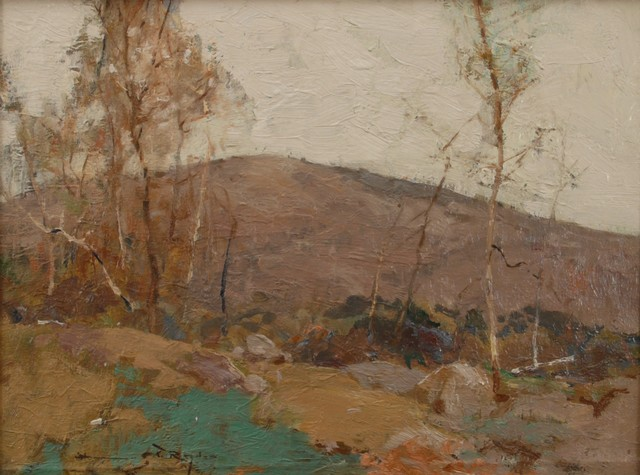 Chauncey Ryder, 'Mountain Birches', ca. 1915, Painting, Oil on canvas, Private Collection, NY