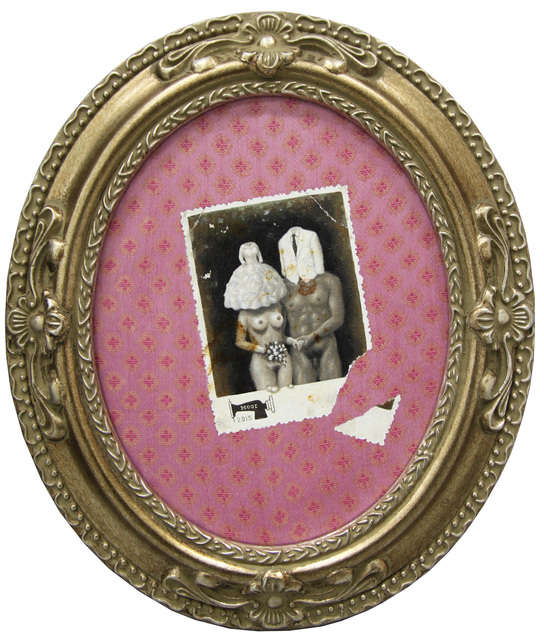 , 'Old Photo Series- Young Couple with Wedding Clothes,' , G13 Gallery