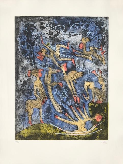 Roberto Matta, 'L'ame du Tarot de Theleme 2', 1994, Denis Bloch Fine Art