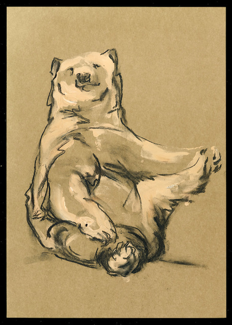 Stephanie Quayle, 'Drawing on Brown Paper', Gallery 38