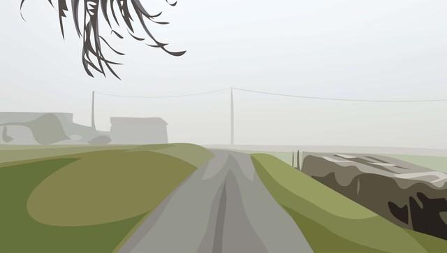 Julian Opie, 'Winter 28.', 2012, Cristea Roberts Gallery