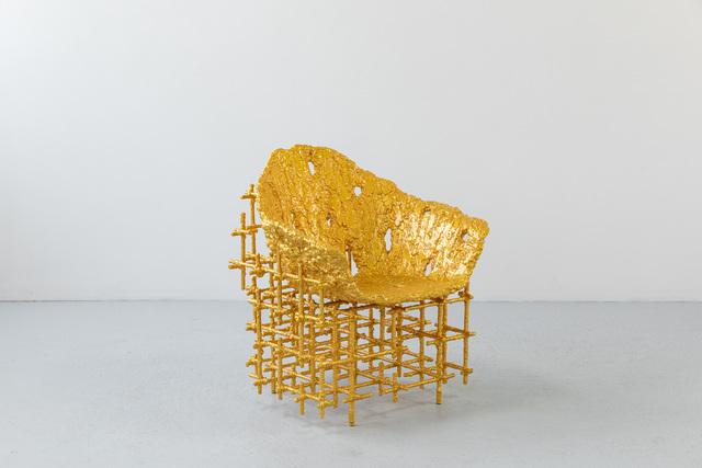 , 'Shell Chair: Red Gold,' 2019, Friedman Benda