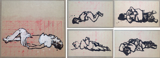 , 'Pudgai (set of 5 drawings),' 2014, Alisan Fine Arts