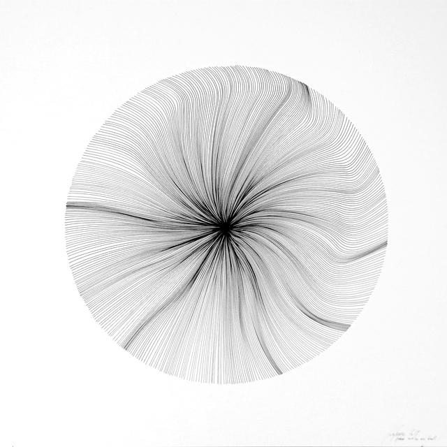 , 'Each Line One Breath - Sphere,' 2017, PARKVIEW ART Hong Kong