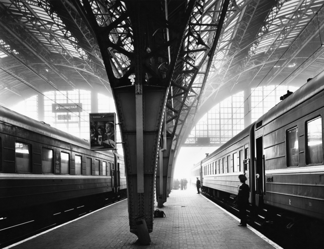 , 'Train Station, Lwow,' 2008, Photography West Gallery
