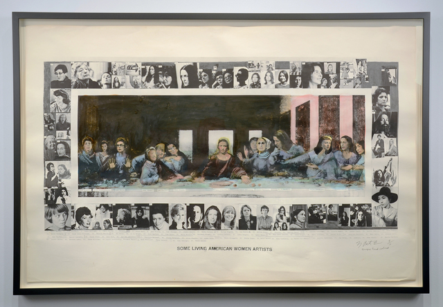 , 'Some Living American Women Artists / Last Supper,' 1972, Minus Space