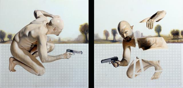 , 'Untitled 016 (Gun Man),' 2015, Benjaman Gallery Group