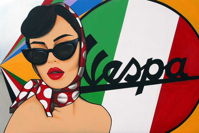Narcís Gironell, 'Siempre Vespa!', ca. 2019, GALERIA JORDI BARNADAS