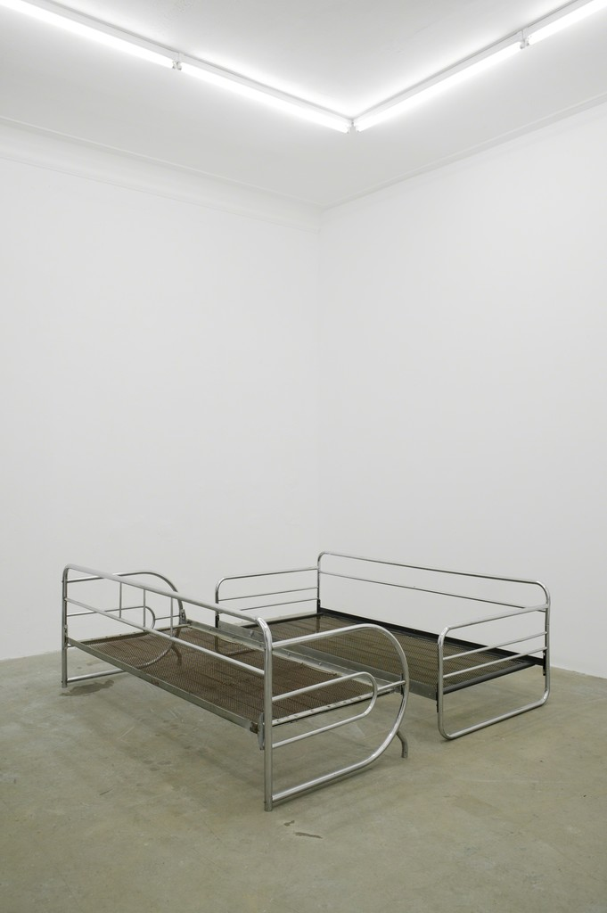 Tobias Hoffknecht - Untitled, 2013, Steel, Dimension Variable