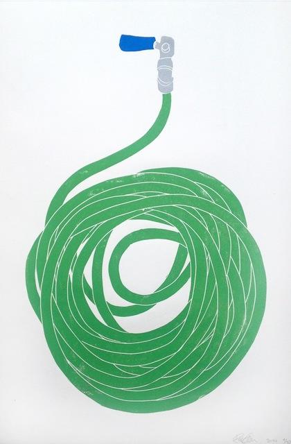 , 'Green Hose,' 2014, CCA Andratx Kunsthalle