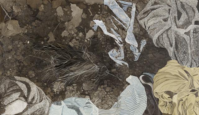 , 'Unearthed H,' 2015, Mind Set Art Center