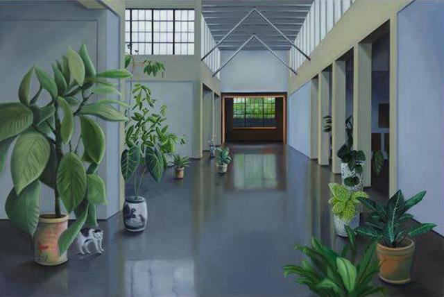 , 'West of Eden 09, (for Jonas Wood and Shio Kusaka),' 2017, Fridman Gallery
