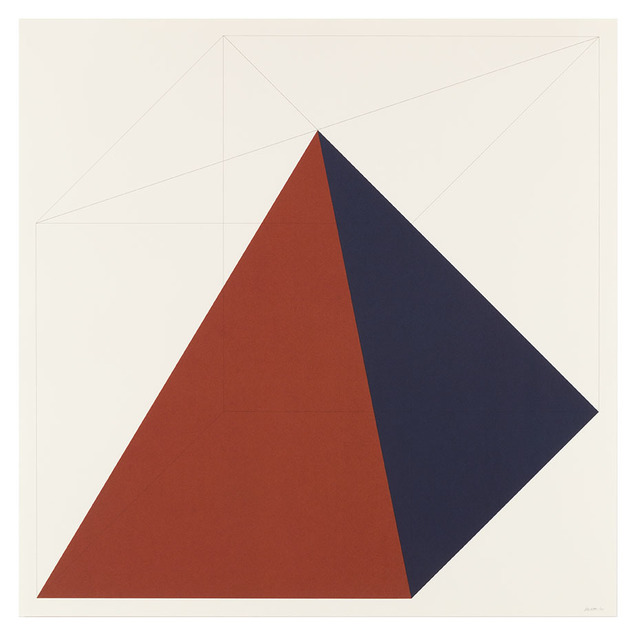 Sol LeWitt, 'Forms Derived from a Cube (Colors Superimposed) 2', 1991, Alan Cristea Gallery