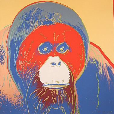 """, '""""Orangutan"""" from """"Endangered Species"""",' 1983, Galerie Boisseree"""