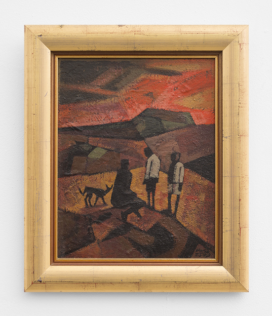 , 'Figures at Sunset,' 1969, SMAC
