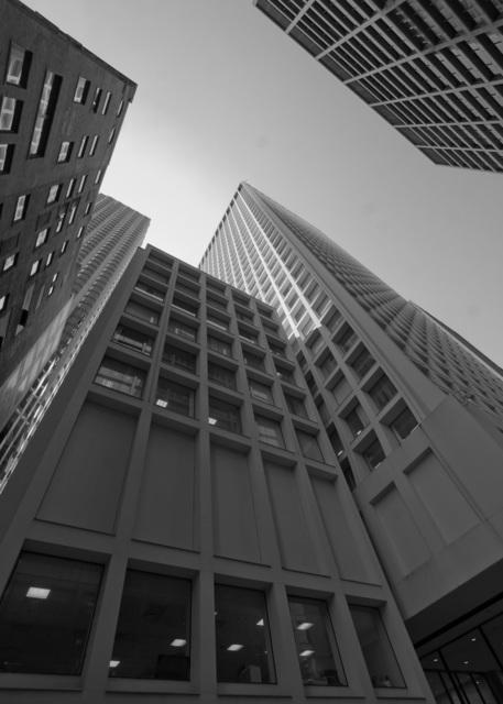 , 'Brunswick Building From Dearborn Street,' , Chicago Art Source
