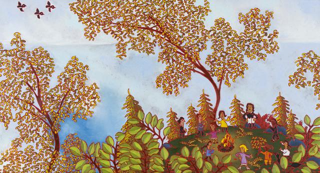, 'Feu, lecture et nature,' 2016, Studio 21 Fine Art