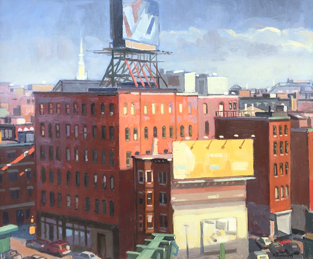 , 'North End,' 2019, William Baczek Fine Arts