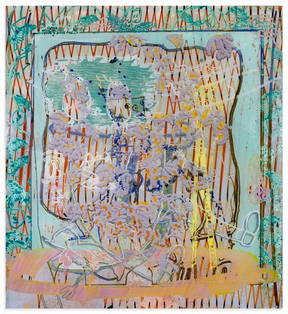 , '107r(Disp back),' 2017, Johannes Vogt Gallery