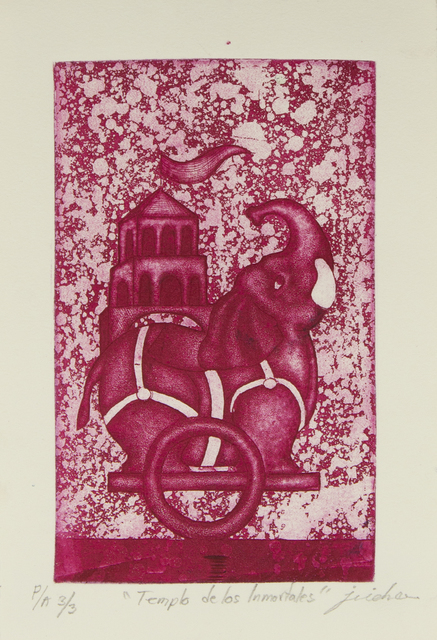 Isidro Fabián, 'Templo de los inmortales', Bernardini Art Gallery & Auction House