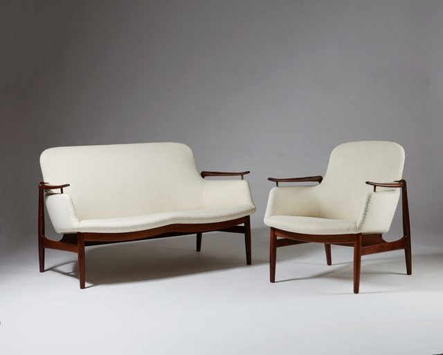 , 'Sofa and armchair FJ 53 designed by Finn Juhl,' 1953, Modernity