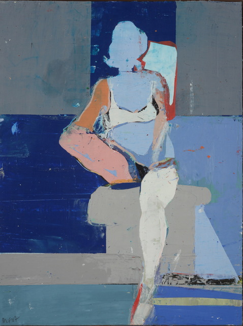 , 'Woman of St. Victoire,' 2007, Andra Norris Gallery