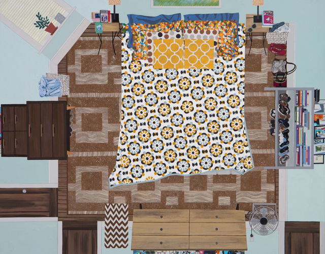 , 'Crooked Bedspread,' 2015, Monya Rowe Gallery