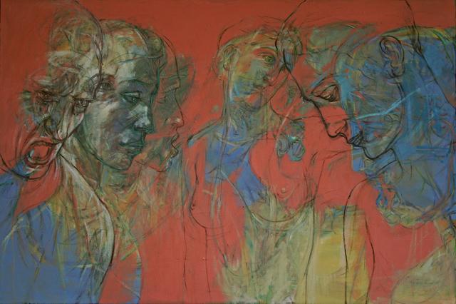 , 'Agamemnon and Clytemnestra,' 2017, Accesso Galleria