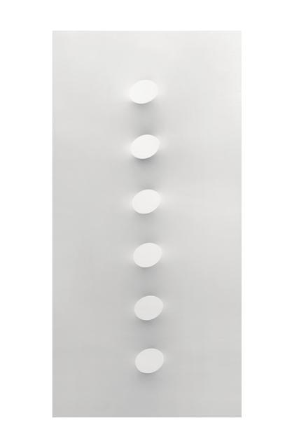 , '6 ovali bianchi,' 2015, Dep Art