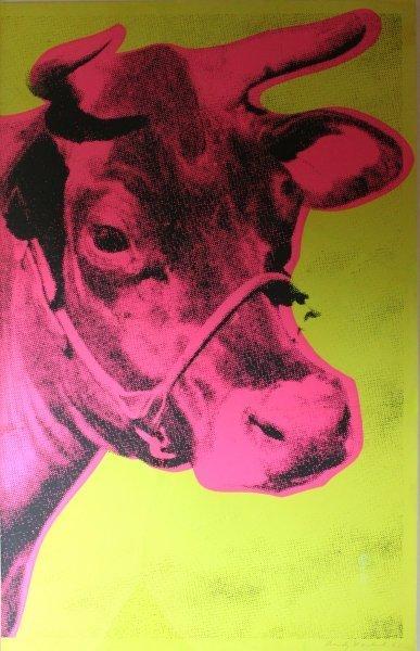 "Andy Warhol ""Cow"" Print"