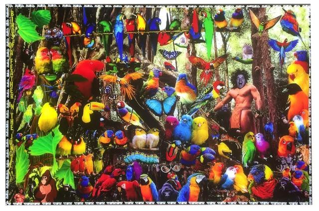 , 'Birds of a Feather in the Jungle,' 2016, Madelyn Jordon Fine Art