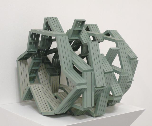 Michael Jantzen, 'Zig Zag Pavilion (Maquette)', 2014, Bruno David Gallery