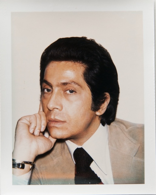 Andy Warhol, 'Andy Warhol, Polaroid Portrait of Valentino', 1973, Hedges Projects